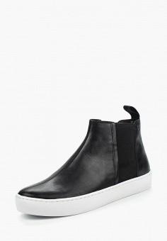 Слипоны, Vagabond, цвет: черный. Артикул: VA468AWPIX58. Обувь