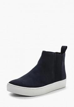 Слипоны, Vagabond, цвет: синий. Артикул: VA468AWPIX60. Обувь
