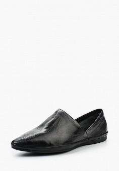 Слипоны, Vagabond, цвет: черный. Артикул: VA468AWPJB59. Обувь
