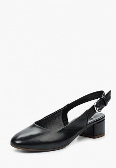 Туфли, Vagabond, цвет: черный. Артикул: VA468AWPJB89. Обувь / Туфли / Закрытые туфли