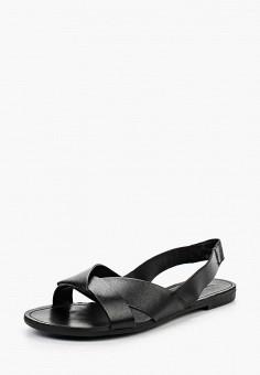 Сандалии, Vagabond, цвет: черный. Артикул: VA468AWPJB93. Обувь