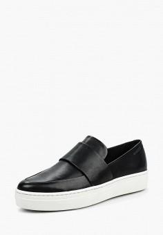 Слипоны, Vagabond, цвет: черный. Артикул: VA468AWPJF34. Обувь