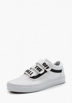 Кеды, Vans, цвет: белый. Артикул: VA984AUAJYE8. Обувь