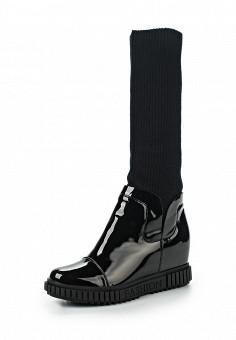 Полусапоги, Velvet, цвет: черный. Артикул: VE002AWLRF33. Обувь / Сапоги