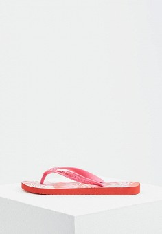 Сланцы, Versace Jeans, цвет: розовый. Артикул: VE006AWAHKJ1.