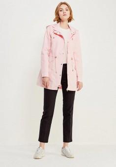 Парка, Vero Moda, цвет: розовый. Артикул: VE389EWZKS77. Одежда / Верхняя одежда / Парки