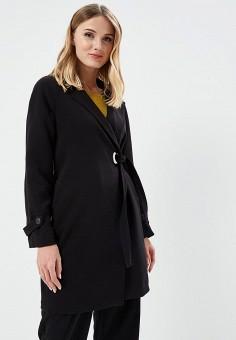 Пальто, Vero Moda, цвет: черный. Артикул: VE389EWZKT30. Одежда / Верхняя одежда / Пальто