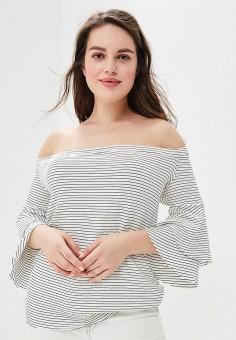 Блуза, Violeta by Mango, цвет: белый. Артикул: VI005EWBGVO1. Одежда