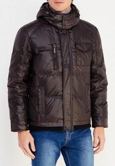 Пуховик, Vitario, цвет: черный. Артикул: VI056EMXFA40. Одежда / Верхняя одежда / Пуховики и зимние куртки