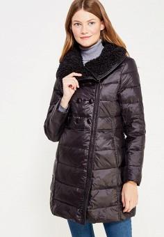 Куртка утепленная, Vitario, цвет: черный. Артикул: VI056EWXFA49. Одежда / Верхняя одежда