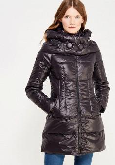 Куртка утепленная, Vitario, цвет: черный. Артикул: VI056EWXFA55. Одежда / Верхняя одежда