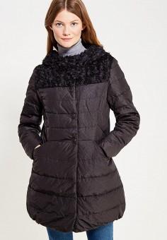 Куртка утепленная, Vitario, цвет: черный. Артикул: VI056EWXFA56. Одежда / Верхняя одежда