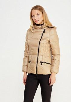 Куртка утепленная, Vitario, цвет: бежевый. Артикул: VI056EWXFA60. Одежда / Верхняя одежда