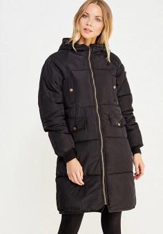 Куртка утепленная, Vitario, цвет: черный. Артикул: VI056EWXFA62. Одежда / Верхняя одежда