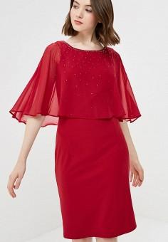 Платье, Wallis, цвет: бордовый. Артикул: WA007EWCFLD4. Одежда / Платья и сарафаны
