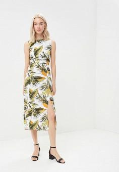 Платье, Warehouse, цвет: зеленый. Артикул: WA009EWBPVC5. Одежда / Платья и сарафаны