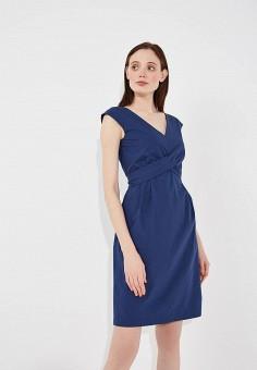 Платье, Weekend Max Mara, цвет: синий. Артикул: WE017EWADSK7. Premium / Одежда / Платья и сарафаны