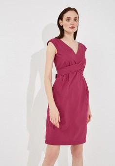 Платье, Weekend Max Mara, цвет: розовый. Артикул: WE017EWADSK9. Premium / Одежда / Платья и сарафаны