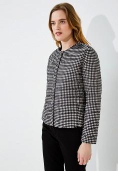 Пуховик, Weekend Max Mara, цвет: черный. Артикул: WE017EWADTA2. Одежда / Верхняя одежда / Пуховики и зимние куртки