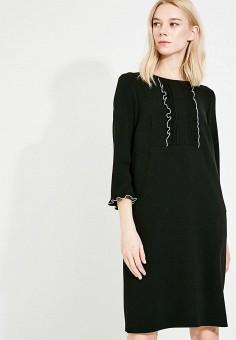 Платье, Weekend Max Mara, цвет: черный. Артикул: WE017EWADTC3. Premium / Одежда / Платья и сарафаны