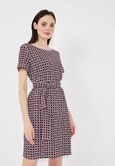 Платье, Weekend Max Mara, цвет: коричневый. Артикул: WE017EWADTT9. Premium / Одежда / Платья и сарафаны