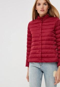 Пуховик, Weekend Max Mara, цвет: бордовый. Артикул: WE017EWBSZI9. Premium / Одежда / Верхняя одежда / Зимние куртки