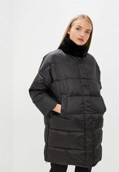 Пуховик, Weekend Max Mara, цвет: черный. Артикул: WE017EWBTBW6. Premium / Одежда / Верхняя одежда / Зимние куртки