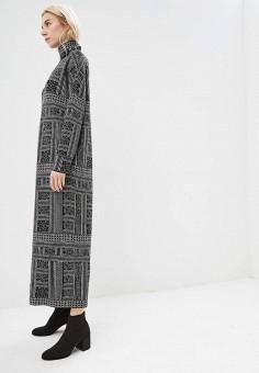 Платье, Weekend Max Mara, цвет: черный. Артикул: WE017EWBTBZ0. Одежда / Платья и сарафаны