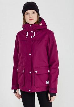 Куртка горнолыжная, Wear Colour, цвет: фиолетовый. Артикул: WE019EWZRL18. Одежда / Верхняя одежда