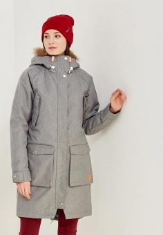 Парка, Wear Colour, цвет: серый. Артикул: WE019EWZRZ36. Одежда / Верхняя одежда