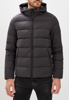 Пуховик, Woolrich, цвет: черный. Артикул: WO256EMCEZJ1. Одежда / Верхняя одежда
