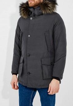 Пуховик, Woolrich, цвет: черный. Артикул: WO256EMUKP62. Одежда / Верхняя одежда / Пуховики и зимние куртки