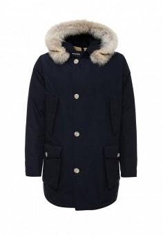 Пуховик, Woolrich, цвет: синий. Артикул: WO256EMUPH55. Премиум / Одежда / Верхняя одежда / Пуховики