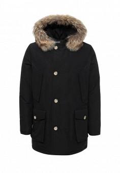 Пуховик, Woolrich, цвет: черный. Артикул: WO256EMUPH56. Премиум / Одежда / Верхняя одежда / Пуховики