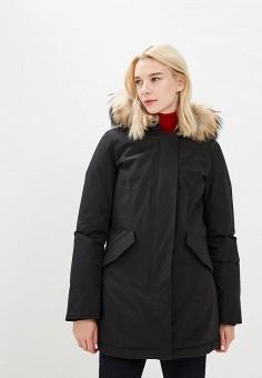 Пуховик, Woolrich, цвет: черный. Артикул: WO256EWCEZJ5. Одежда / Верхняя одежда