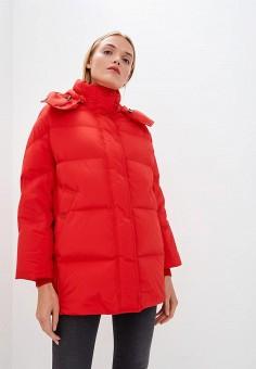 Пуховик, Woolrich, цвет: красный. Артикул: WO256EWCEZJ7. Одежда / Верхняя одежда