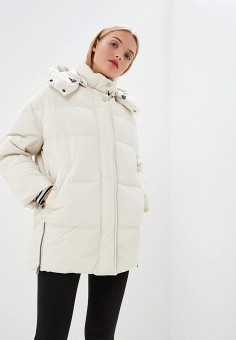 Пуховик, Woolrich, цвет: белый. Артикул: WO256EWCEZJ8. Одежда / Верхняя одежда
