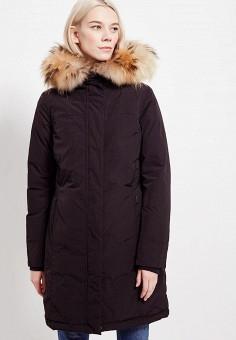 Пуховик, Woolrich, цвет: черный. Артикул: WO256EWUKP48. Одежда / Верхняя одежда / Зимние куртки