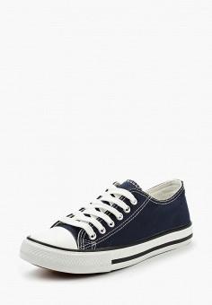 Кеды, WS Shoes, цвет: синий. Артикул: WS002AWBCWU2. Обувь / Кроссовки и кеды / Кеды