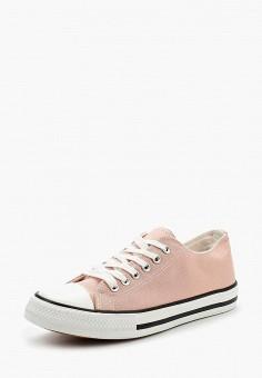 Кеды, WS Shoes, цвет: розовый. Артикул: WS002AWBCWU4. Обувь / Кроссовки и кеды / Кеды