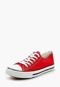 Кеды, WS Shoes, цвет: красный. Артикул: WS002AWBCWU5. Обувь / Кроссовки и кеды / Кеды