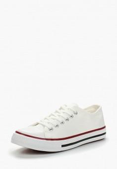 Кеды, WS Shoes, цвет: белый. Артикул: WS002AWBCWU6. Обувь / Кроссовки и кеды / Кеды