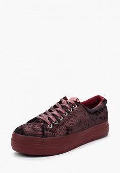 Кеды, Y & L, цвет: бордовый. Артикул: YL002AWPSM00. Обувь / Кроссовки и кеды / Кеды
