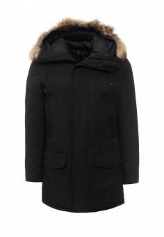 Куртка утепленная, Y.Two, цвет: черный. Артикул: YT002EMXXQ69. Мужская одежда / Верхняя одежда / Пуховики и зимние куртки