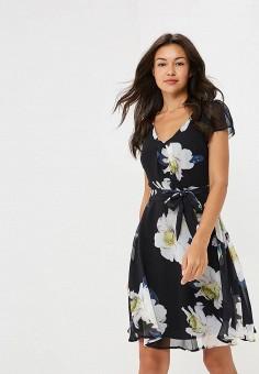 Платье, Yumi, цвет: черный. Артикул: YU001EWCEIL3. Одежда