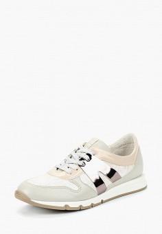 Кроссовки, Юничел, цвет: серебряный. Артикул: YU003AGBUTJ5. Обувь