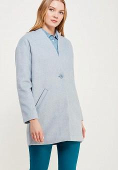 Пальто, Zarina, цвет: голубой. Артикул: ZA004EWABUI2. Одежда / Верхняя одежда / Пальто