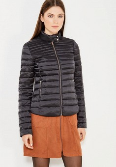 Пуховик, Zarina, цвет: черный. Артикул: ZA004EWUOP64. Одежда / Верхняя одежда / Пуховики и зимние куртки