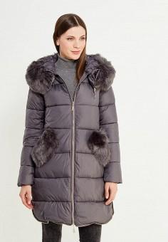 Куртка утепленная, Z-Design, цвет: серый. Артикул: ZD002EWXNY79. Одежда / Верхняя одежда