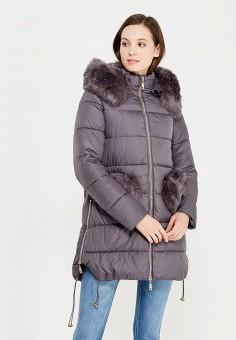 Куртка утепленная, Z-Design, цвет: серый. Артикул: ZD002EWXNY85. Одежда / Верхняя одежда